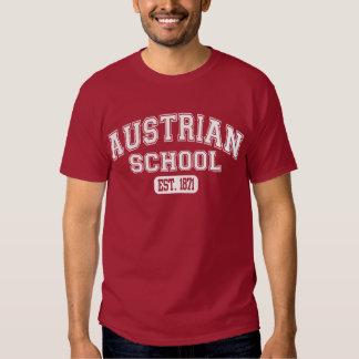 Escuela austríaca Est. 1871 Playeras