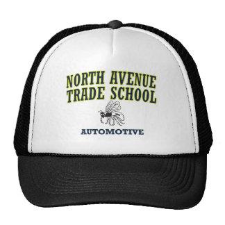Escuela comercial de la avenida del norte - automo gorros bordados