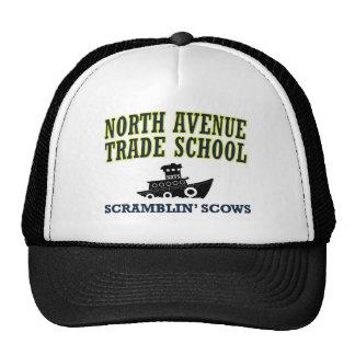 Escuela comercial de la avenida del norte - Scows  Gorras De Camionero