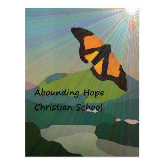 Escuela de abundancia del cristiano de la postal