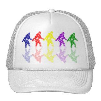ESCUELA de ARTE SQUATCH - logotipo colorido de Big Gorros