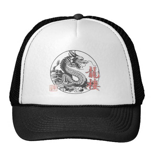 Escuela de artes marciales del dragón gorras