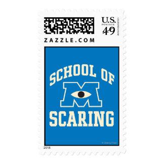 Escuela de asustar sellos