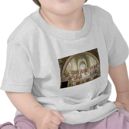 Escuela de Atenas Camisetas