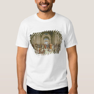 Escuela de Atenas, del della de la estrofa Camisas