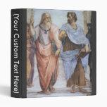 Escuela de Atenas (detalle - Platón y Aristóteles)