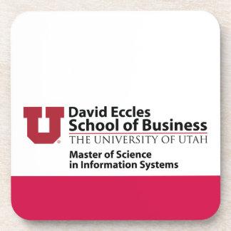 Escuela de David Eccles del negocio - MSIS Posavasos