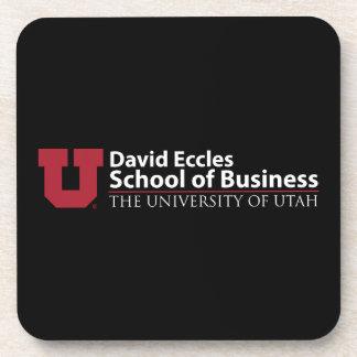 Escuela de David Eccles del negocio Posavasos