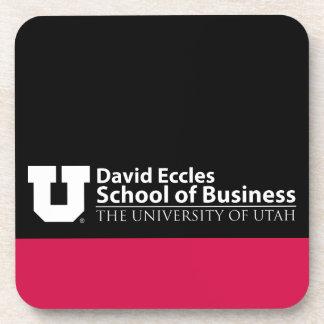 Escuela de David Eccles del negocio Posavasos De Bebidas
