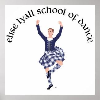 Escuela DE ENCARGO de Elise Lyall de la danza Póster