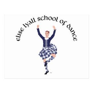 Escuela DE ENCARGO de Elise Lyall de la danza Tarjetas Postales