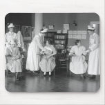 Escuela de enfermería, 1900s tempranos tapetes de ratones