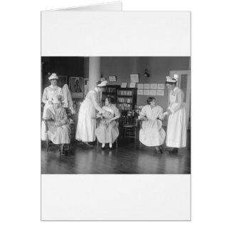 Escuela de enfermería 1900s tempranos felicitaciones