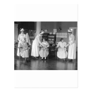Escuela de enfermería 1900s tempranos postal