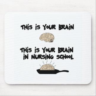 Escuela de enfermería alfombrillas de raton