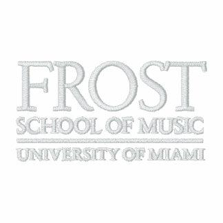 Escuela de Frost del logotipo de la música Polo Bordado