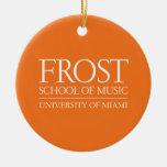 Escuela de Frost del logotipo de la música Ornamento De Reyes Magos