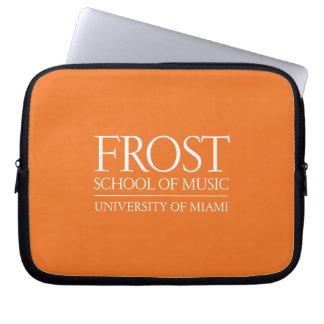 Escuela de Frost del logotipo de la música Funda Ordendadores