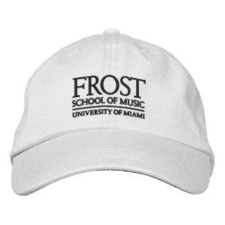 Escuela de Frost del logotipo de la música Gorros Bordados