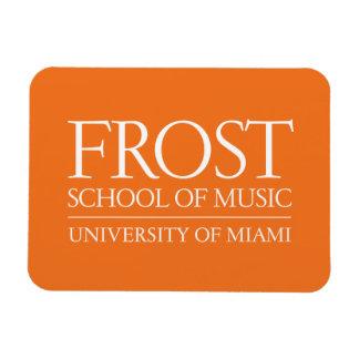 Escuela de Frost del logotipo de la música Iman Flexible