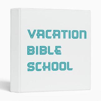 """Escuela de la biblia de las vacaciones de la carpeta 1"""""""