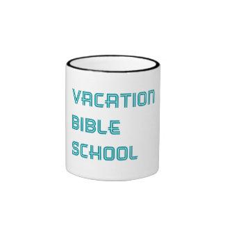 Escuela de la biblia de las vacaciones de la taza de dos colores