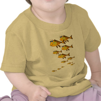 Escuela de la FishT-Camisa amarilla