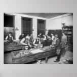 Escuela de la fontanería, 1900s tempranos impresiones