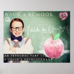 Escuela de la parte posterior 2 posters