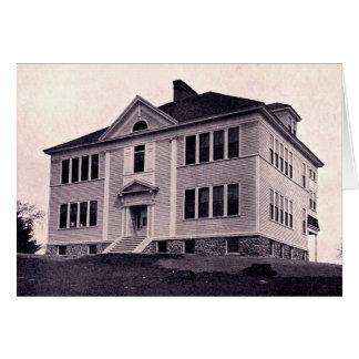 Escuela de la unión de Massachusetts del arrumage Tarjeta De Felicitación