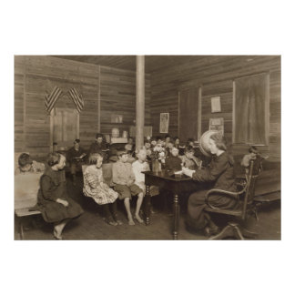 Escuela de Lewis Hine, 1921 Póster