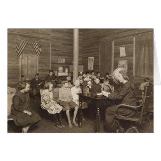 Escuela de Lewis Hine, 1921 Tarjeta De Felicitación