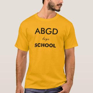 Escuela de los muchachos de Abingdon Playera