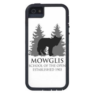 Escuela de Mowglis del caso abierto del iPhone 5 - iPhone 5 Fundas