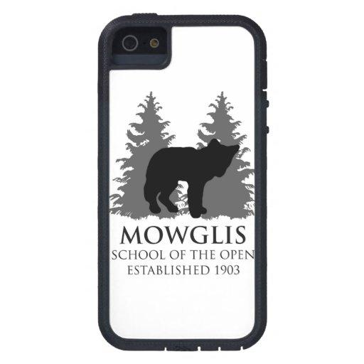 Escuela de Mowglis del caso abierto del iPhone 5 - iPhone 5 Cárcasa