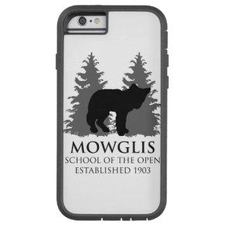 Escuela de Mowglis del caso abierto del iPhone 6 - Funda De iPhone 6 Tough Xtreme
