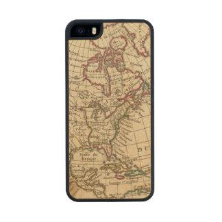 Escuela de Norteamérica Funda De Arce Carved® Para iPhone 5 Slim