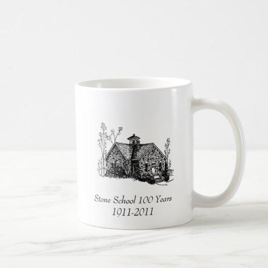 Escuela de piedra 100 años de taza