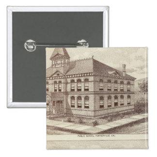 Escuela de Porterville, tienda Pin Cuadrado