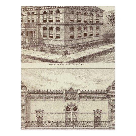 Escuela de Porterville, tienda Postal