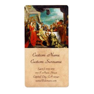 Escuela de Rubens - de Alboin y de Rosamunde Peter Etiquetas De Envío