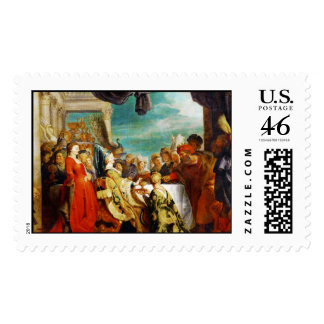 Escuela de Rubens - de Alboin y de Rosamunde Peter Sellos