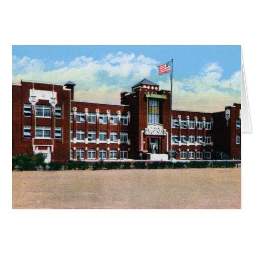 Escuela de secundaria de Kansas Lincoln de la sali Felicitaciones