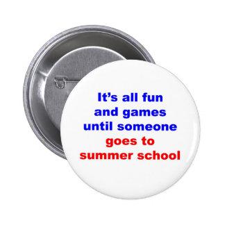 Escuela de verano pin