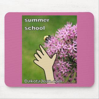 Escuela de verano mouse pad