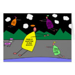 Escuela de vuelo de la noche del ángel tarjeta