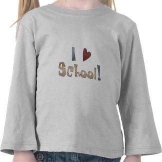 Escuela del amor camisetas