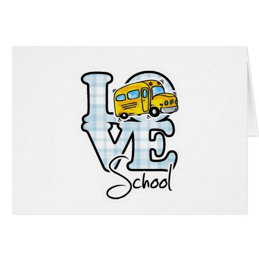 Escuela del amor felicitación