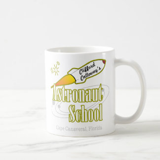 Escuela del astronauta taza