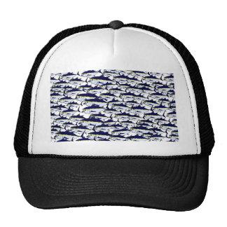 Escuela del atún de Bluefin Gorra